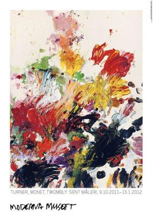 画像2: Cy Twombly: Untitled,1990 ポスター