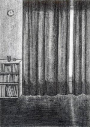 画像1: 須藤由希子: 「この庭に」時計の音とカーテン