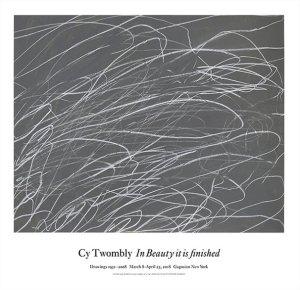 画像1: Cy Twombly: Untitled, 1969 ポスター