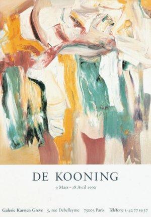画像1: Willem de Kooning: 展覧会 ポスター