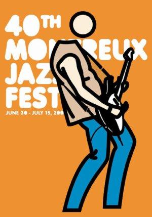 画像2: Julian Opie: Montreux Jazz Festival, 2006 ポスター
