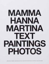 MAMMA HANNA MARTINA TEXT PAINTINGS PHOTOS