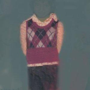 画像1: Nancy Friedland: untitled (argyle vest)