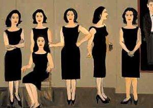 画像1: Alex Katz: THE BLACK DRESS